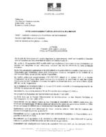 Arrêté complémentaire n°DIRCOL 2016-0412 du 28/07/2016