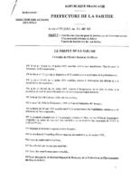 Arrêté n°99.3563 du 31/08/1999