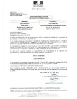 Récépissé changement d'exploitant UVED Syner'Val le 11/04/2017